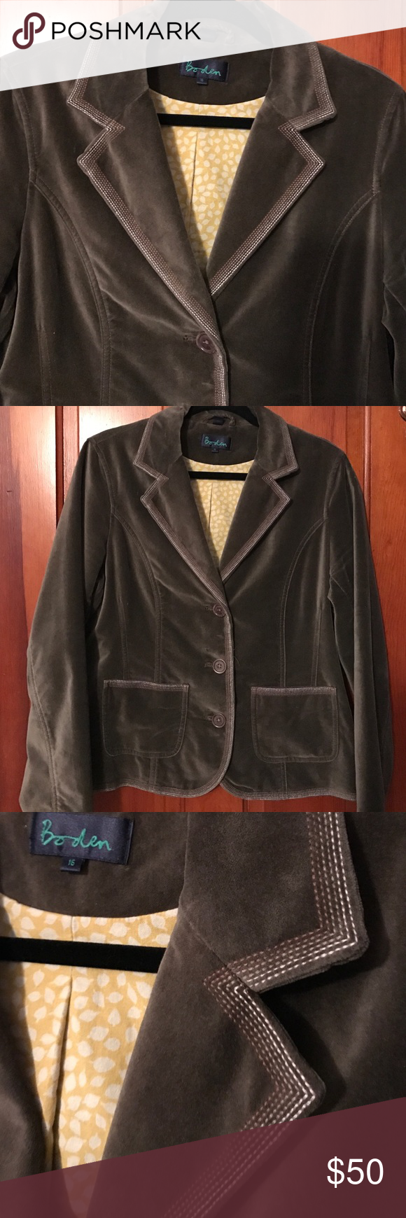 Boden USA Velvet Jacket | Velvet jacket, Boden and Coats