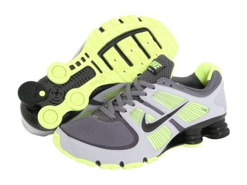 Nike Shox Turbo 11 Men s - Grey Volt Black Running Shoe Reviews 34583b982