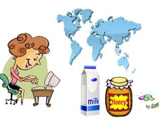 """The Land of Milk and Honey!"" 
