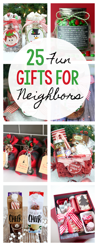 25 Fun Simple Gifts For Neighbors This Christmas Christmas