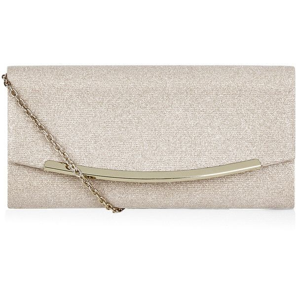 Monsoon Melrose Sparkle Clutch (€46) ❤ liked on Polyvore ...