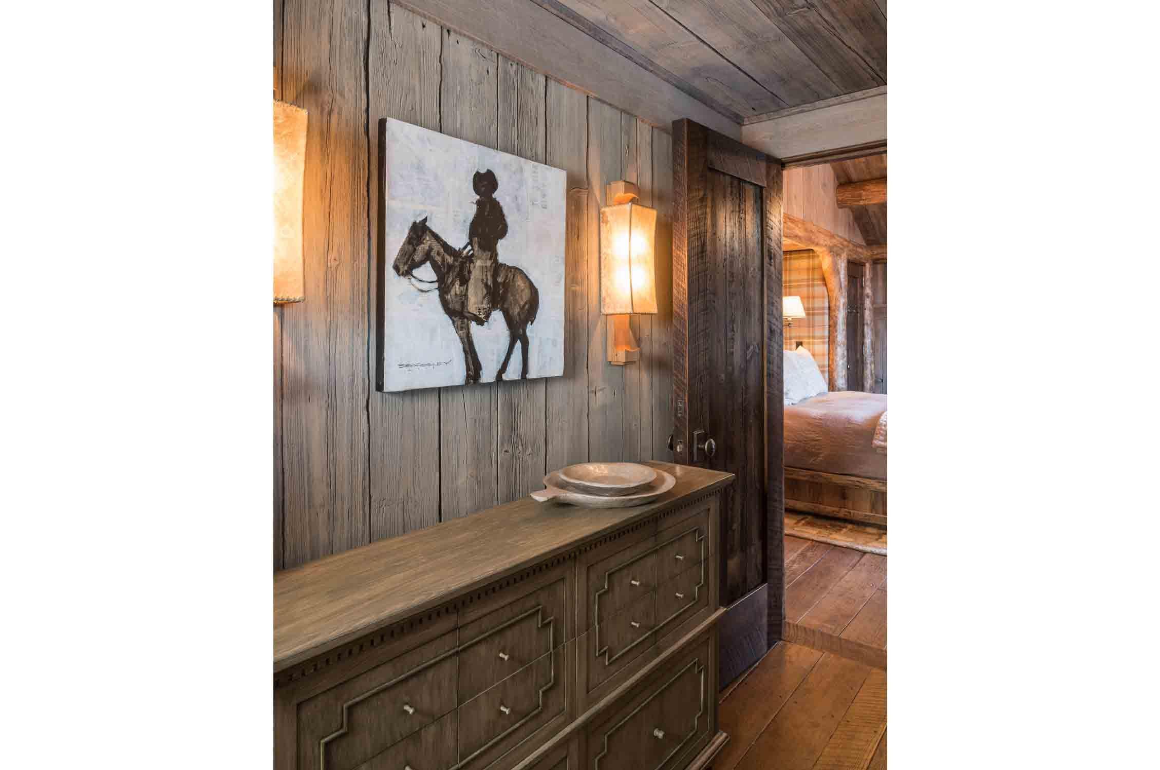 Freedom lodge montana u interior design by pearson design group