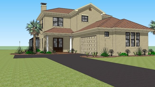 Florida House 3d Warehouse Florida Home House With Land House