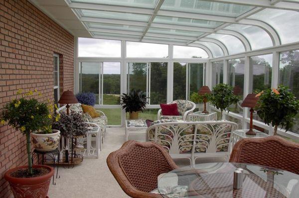 Glasdach Terrassen Als Hit Im Modernen Lebensstil Terrace