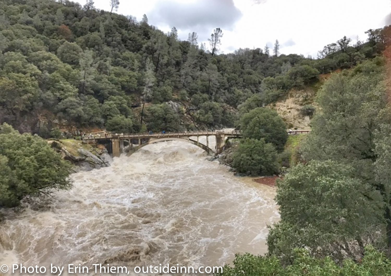 High Water At The South Yuba River Be Careful With These Winter Weather Conditions Nevada City Nevada City California Visit Nevada