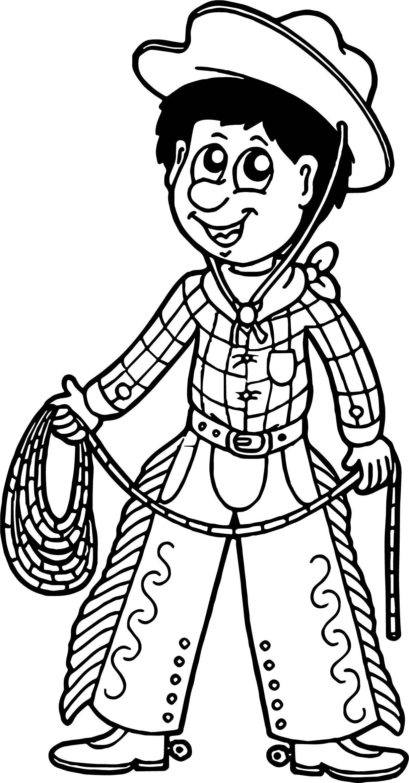 Awesome Cute Cowboy Cutcaster Photo Cartoon Cowboy With Lasso Coloring Page Cartoon Coloring Pages Bear Coloring Pages Coloring Pages