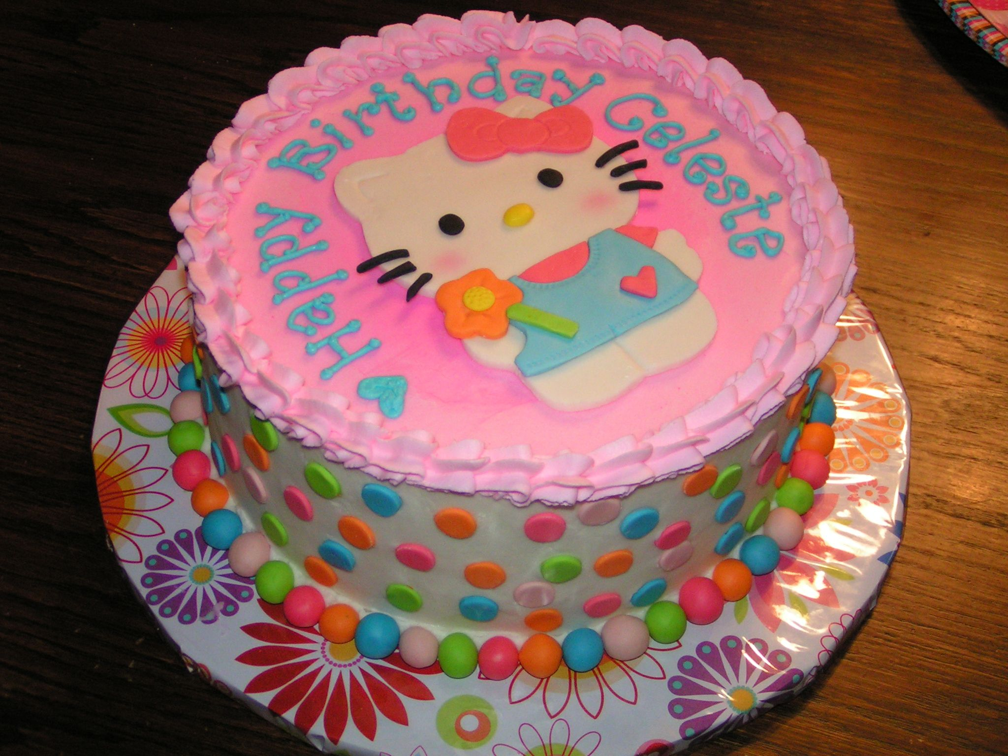 Hello Kitty Birthday Cake My Creations Pinterest Hello Kitty