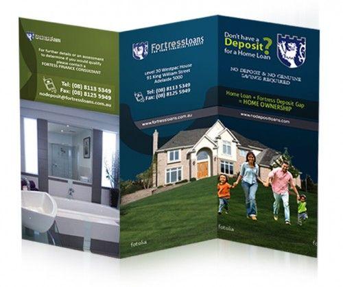 30 Contoh Desain Brosur Lipat Tiga 10 Trifold Brochure 500x419
