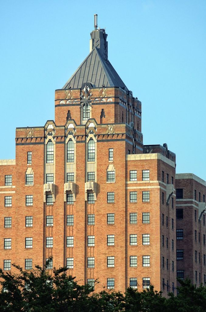 Akron YMCA Building, Ohio - I remember being chased down the hall by a  yelling