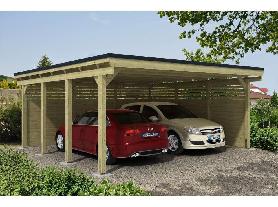 Carport Castellane 558 X 555 Direct Abris Carport Designs Carport Carport Patio