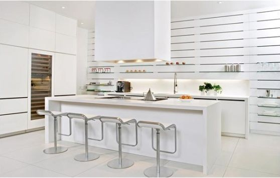 Modern White Color Style With Minimalist Kitchen Cabinets For Small Kitchen Part 43