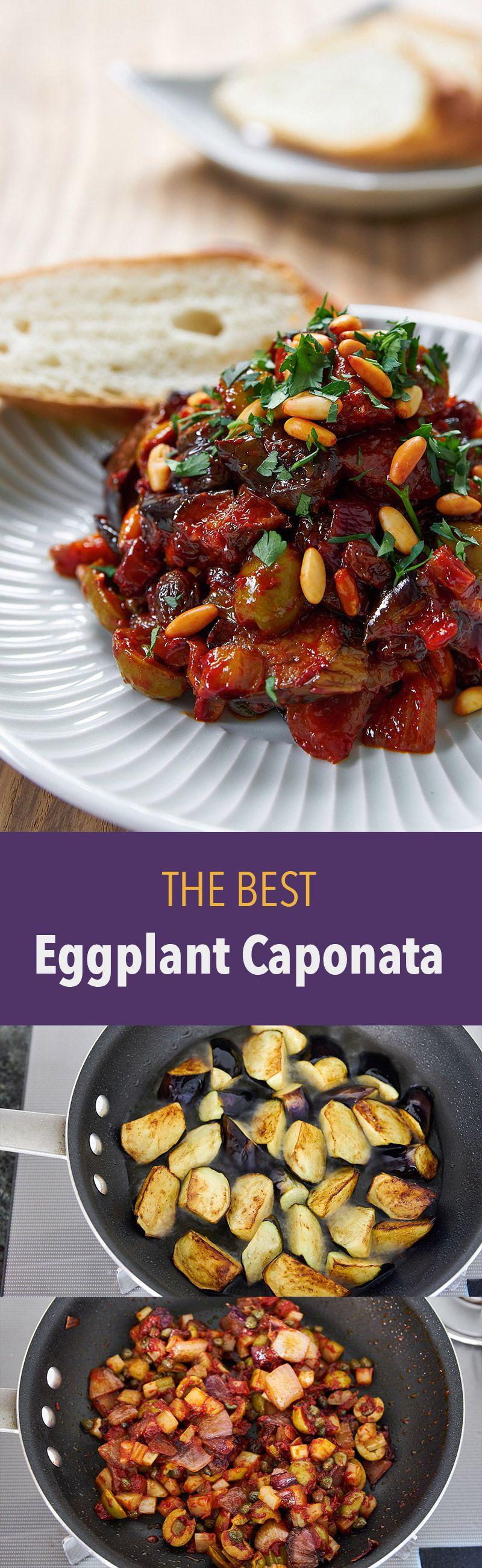 Caponata Siciliana recipes winner winner chicken dinner Pinterest