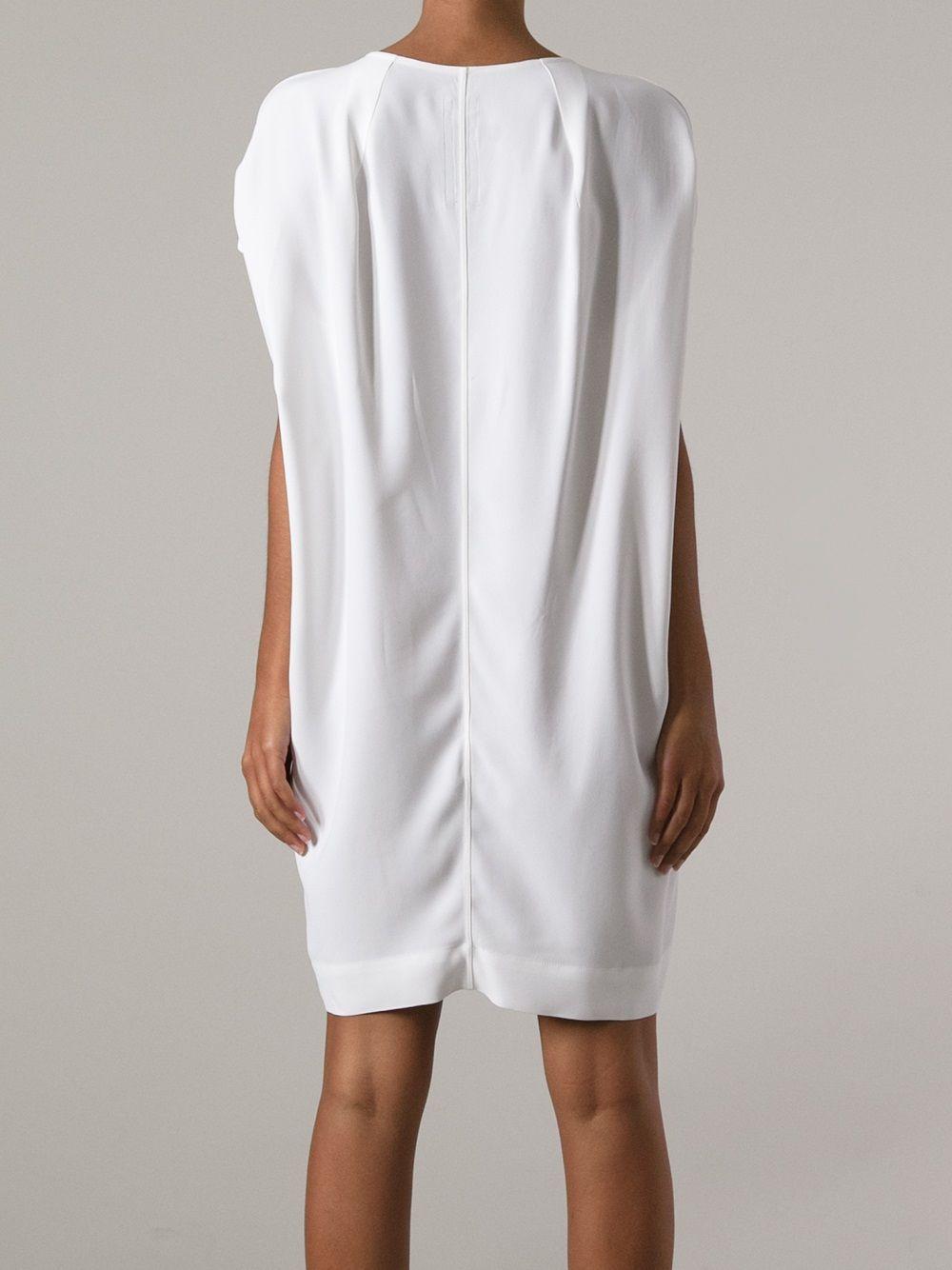 Rick Owens Short Sleeve Dress - Eraldo - Farfetch.com.br