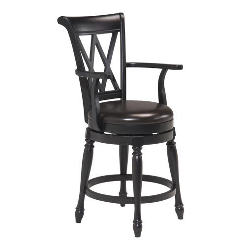 Traditional Swivel Bar Stool Home Styles Furniture Bar Height 28 To