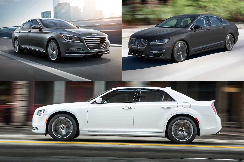 Cheap Luxury 10 Premium Sedans Under 40,000 Motor Trend