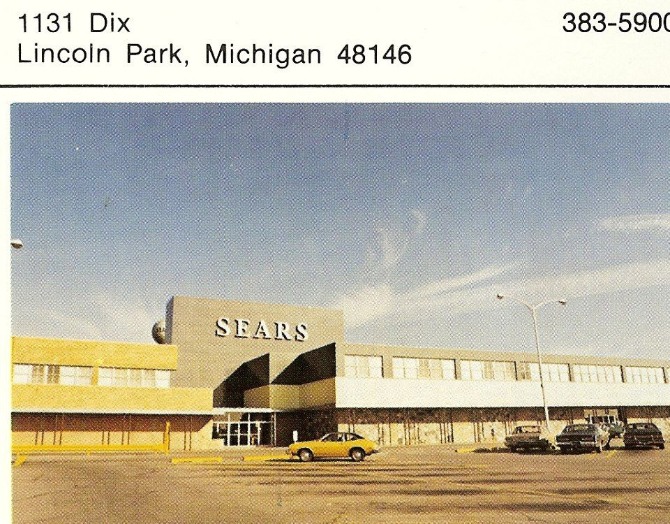 Lincoln park sears early 1970s lincoln park sears