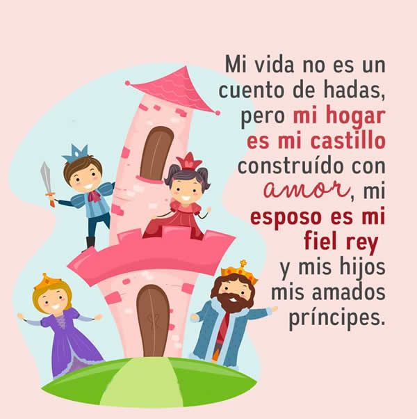 Mi Hogar Es Mi Castillo Telenovela A Mi Esposo Familia Frases