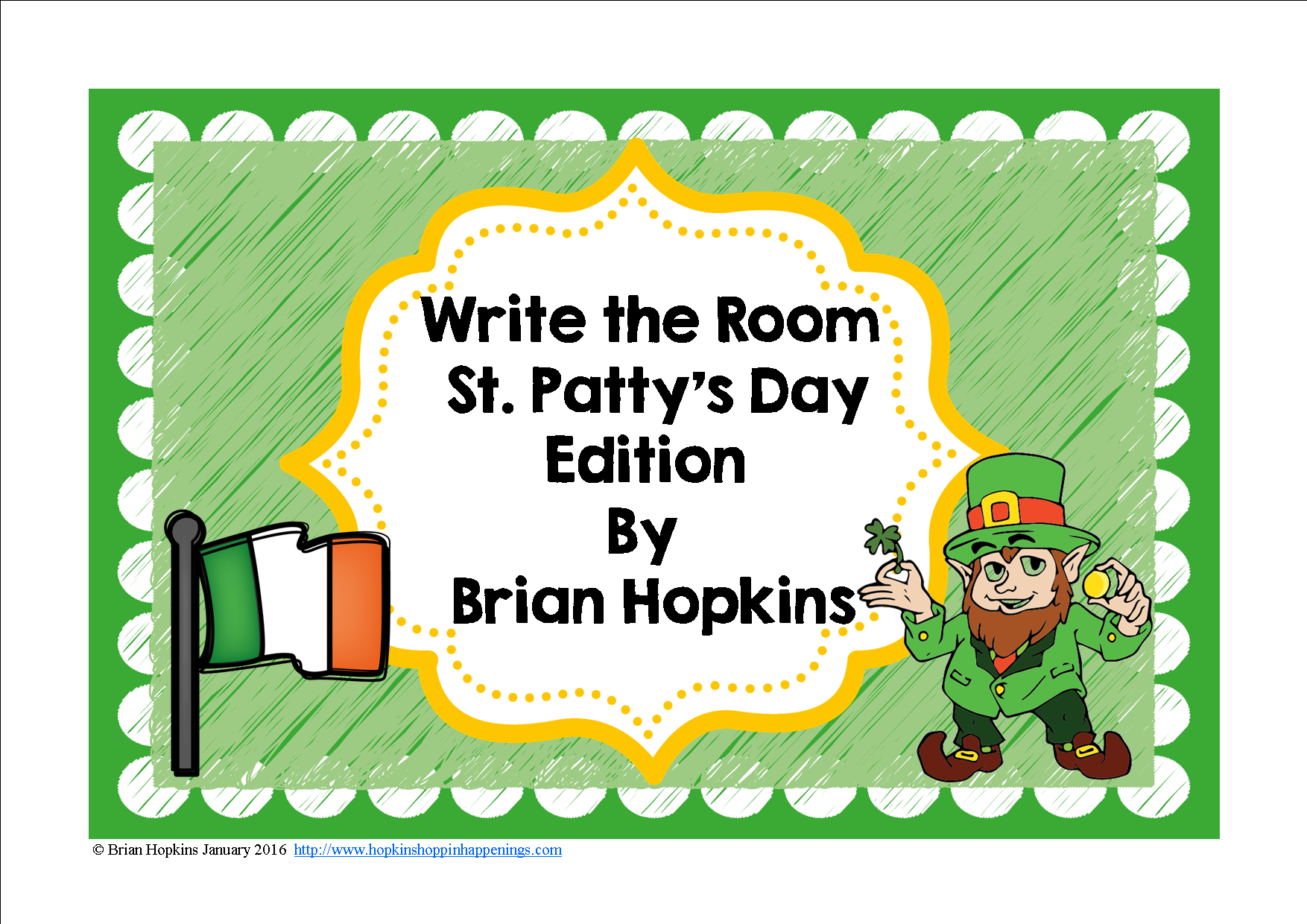 Write The Room St Patrick S Day Beginning Sounds