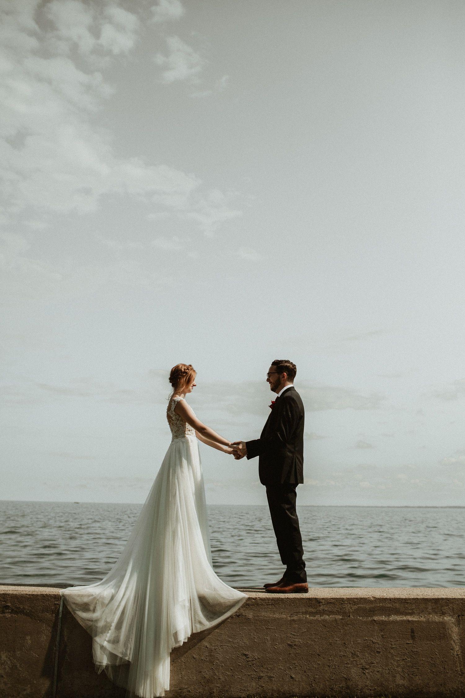 On the water Michigan wedding in 2020 Michigan wedding
