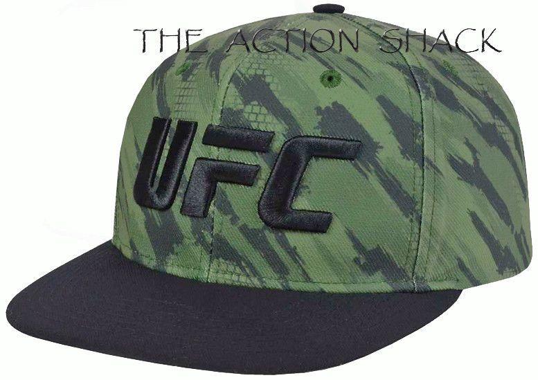 5bcd02322d095a Y9 • Reebok Ufc Sublimated Hat   Cap • Nwt Adult Snapback Multi •  28140