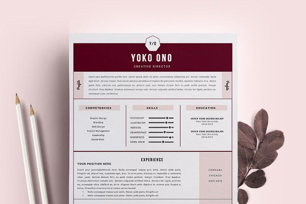 Creative Director Resume Template\/CV by Resume21 on - creative director resume
