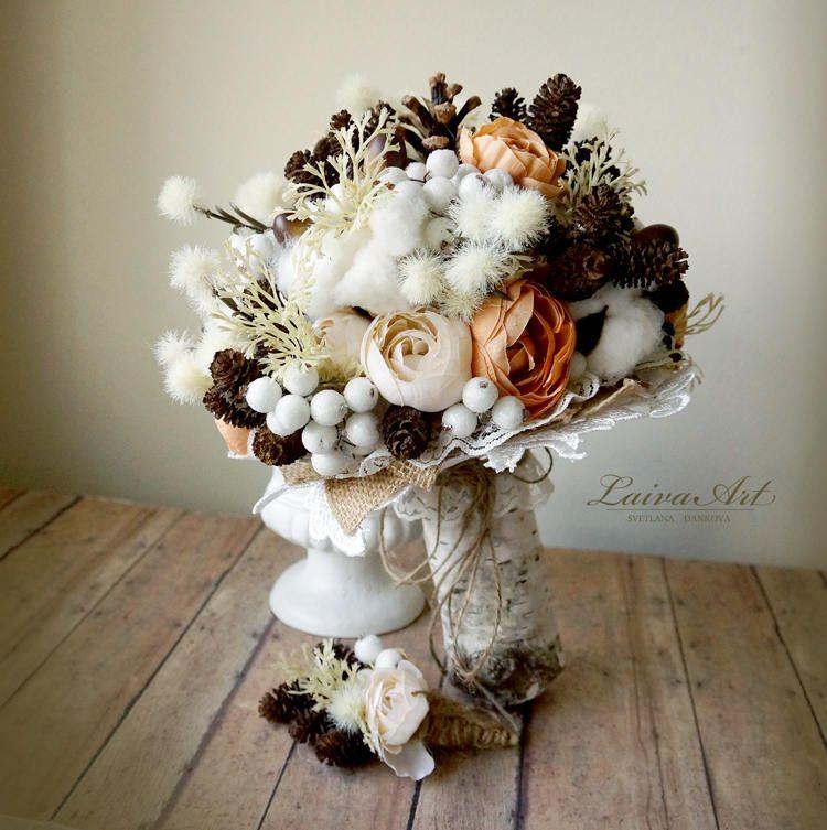 Pinterest Fall Wedding Flowers: Rustic Wedding Flowers Bouquet Fall Wedding Bouquet Burlap