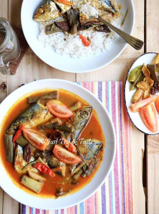Resep Gulai Ikan Kembung Dengan Batang Talas Resep Masakan Cina Resep Masakan Indonesia Gulai