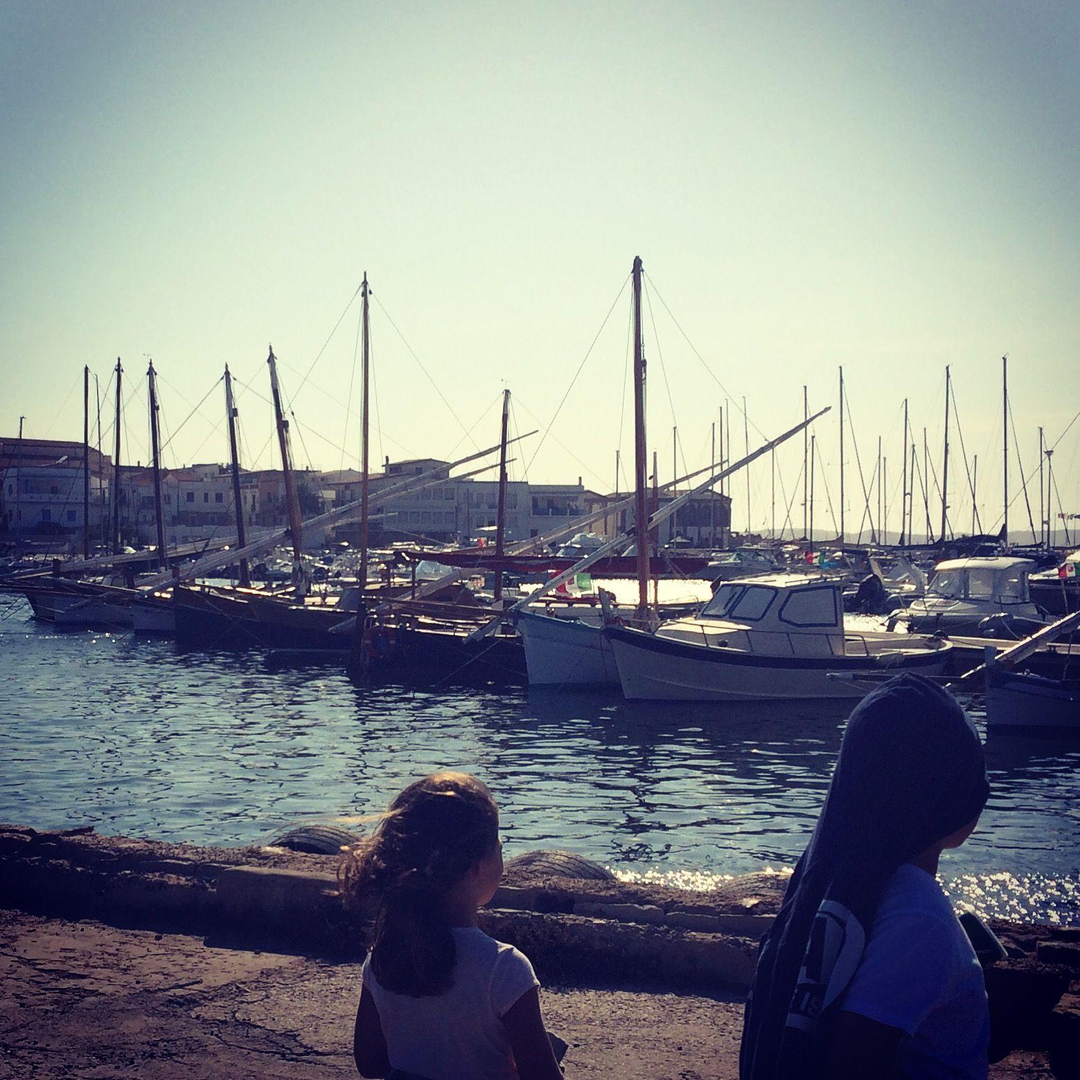 Calasetta, Sardegna, il pontile delle Vele Latine