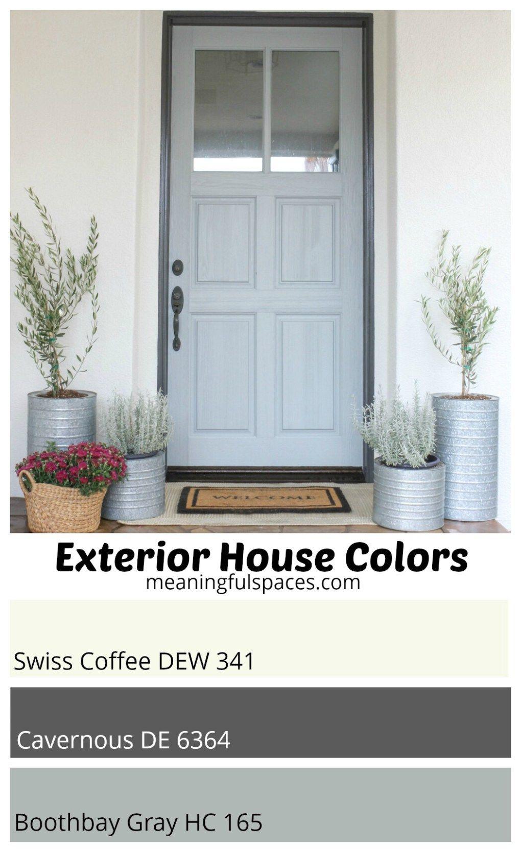 Exterior house color palette exterior paint colors pinterest