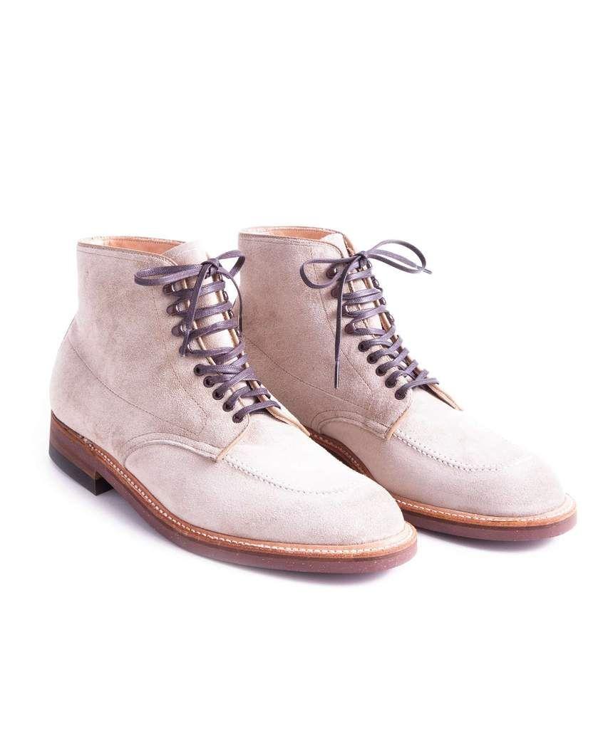 Alden Suede Indy Boot In Milkshake Exclusive | krpe | Boots