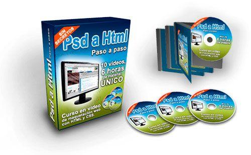 Video Curso Completo de Maquetación Web con XHTML y CSS