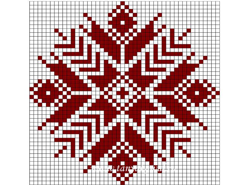 Вышивка скандинавские узоры схемы