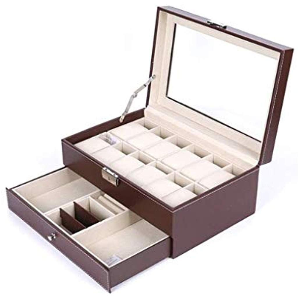 Watch Box Double Layer Jewellery Box Ring Earrings Sunglasses Storage Box Collection Box Gift Color Sunglasses Storage Box Sunglasses Box Sunglasses Storage