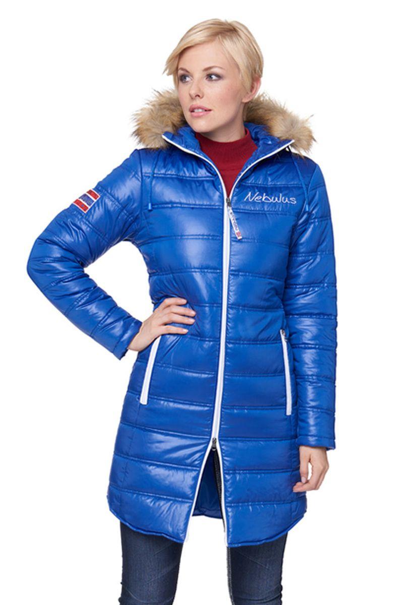 Nebulus Mantel Cortina Wattiert Kapuze Kunstfellbesatz Blau Jetzt Bestellen Unter Https Mode Ladendirekt De Damen Bekleidung Maent Bekleidung Mantel Mode