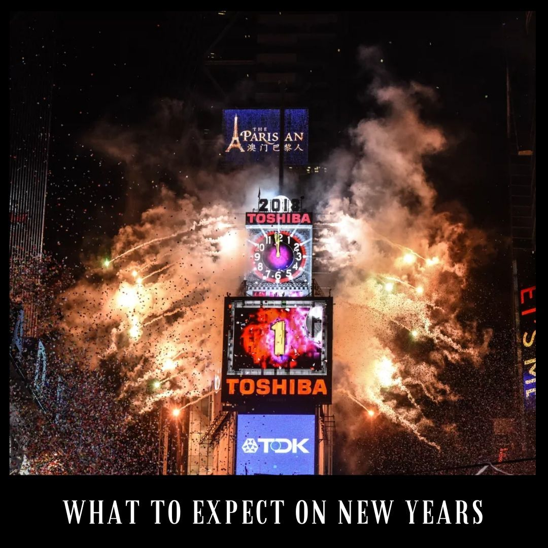 WHAT TO EXPECT ON NEW YEARS Over 1,000,000 people see the