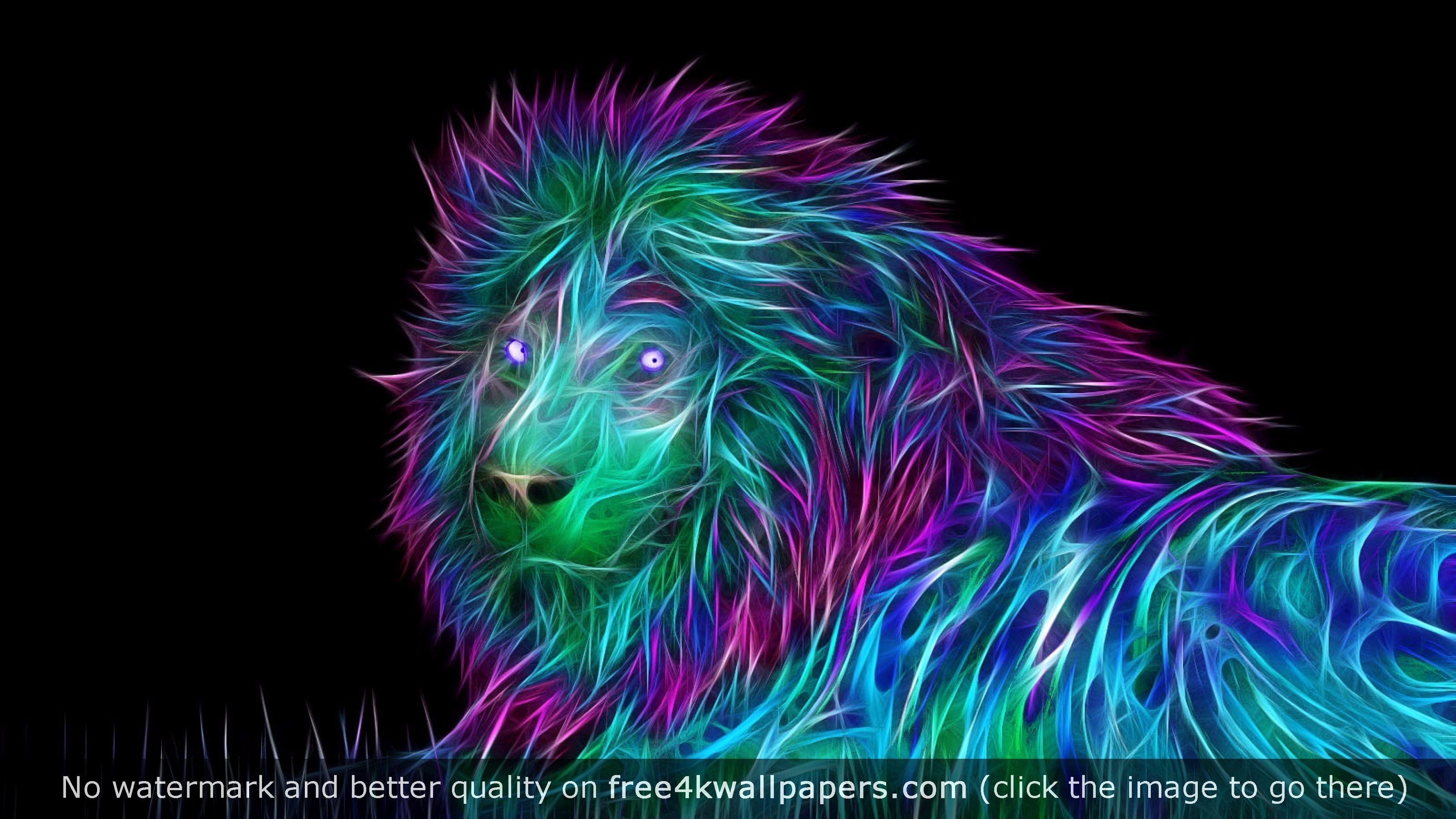 Top 2016 4k Wallpaper Abstract Lion Abstract Lion Art Lion Art