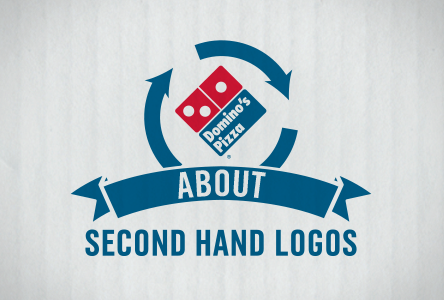 Pin by Chot Woos on Domino's pizza Hand logo, Logos