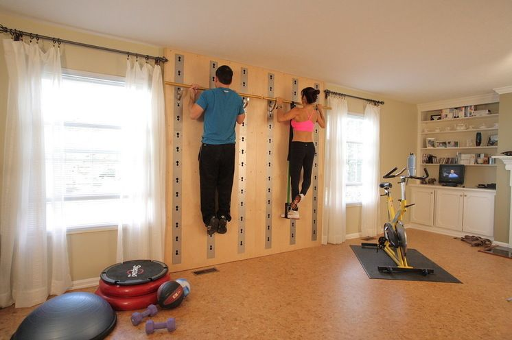 Traditional home gym by isawall systems llc fitness and health
