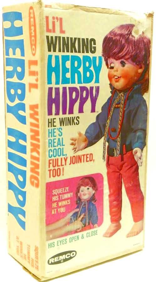Herby Hippy - He winks and is fully jointed! #packagedesign #package #hippy #design