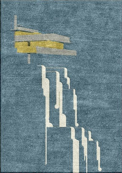 Custom Mission Rugs Falling Watersgrand Designsfrank Lloyd Wrightcraftsman Stylerug