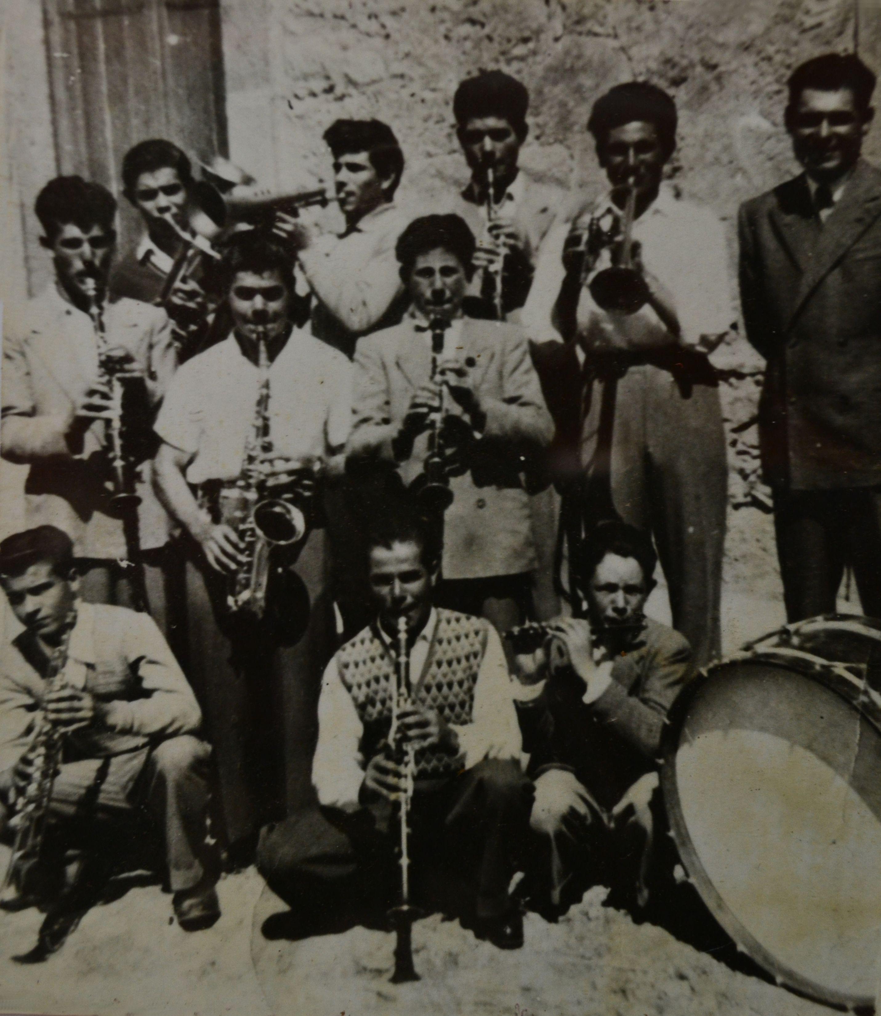 1951 La vecchia Banda Musicale