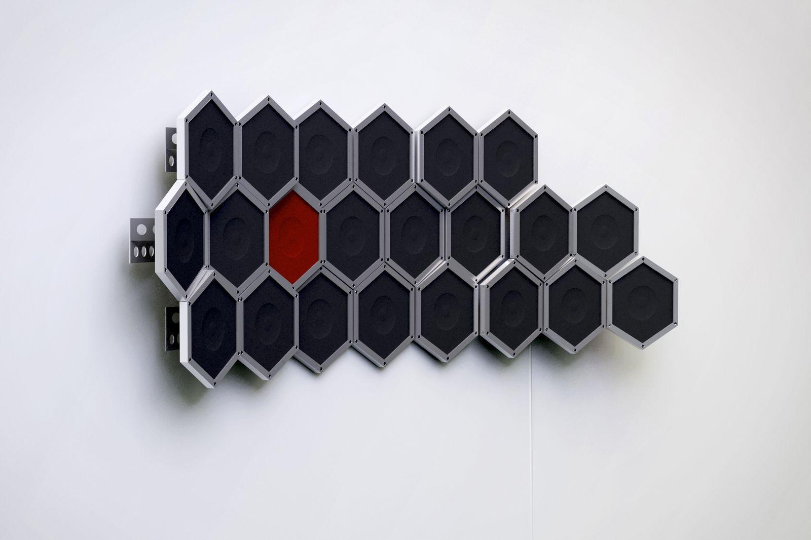 Hive modular speakers system 2009 The Hive modular speakers