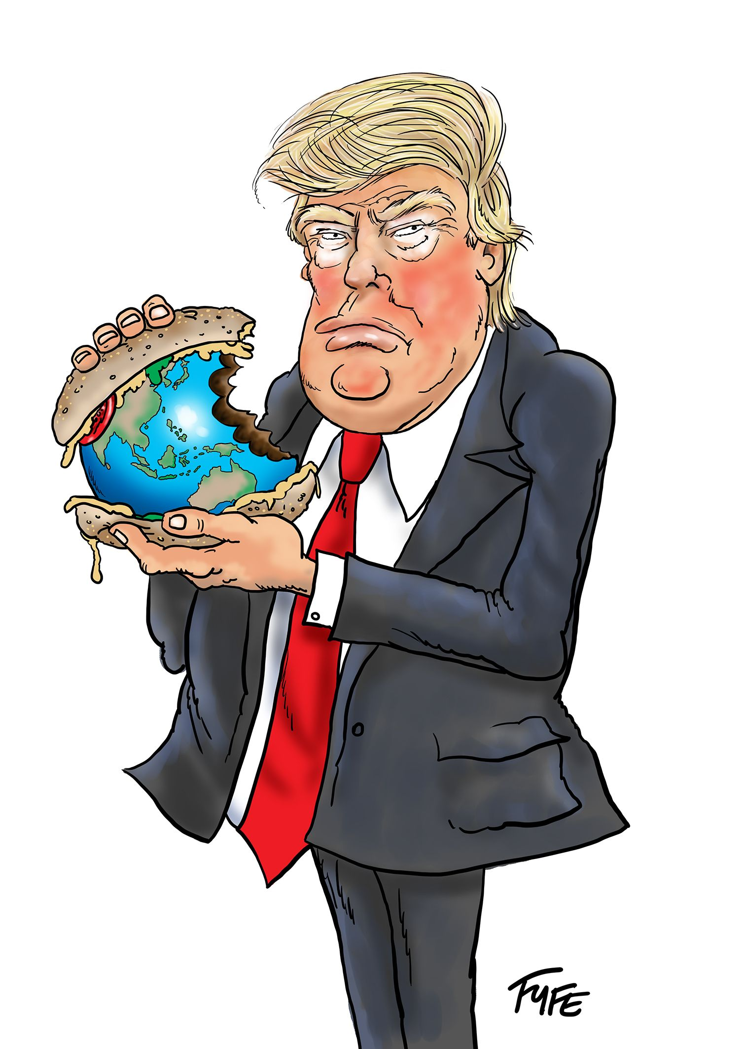 Image of: Political Donald Trump Caricature Trump Caricature Donald Trump Cartoon Trump Cartoon Shutterstock Donald Trump Caricature Trump Caricature Donald Trump Cartoon