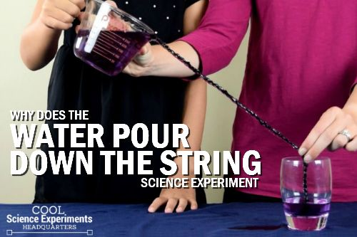 """For this experiment we are going to pour water out of one container and into another. That probably sounds like something you do every day. But this time there will be a twist! The two containers will be a foot apart and we will use a little science """"magic"""" to pour the water. Pouring Water… [read more]"""