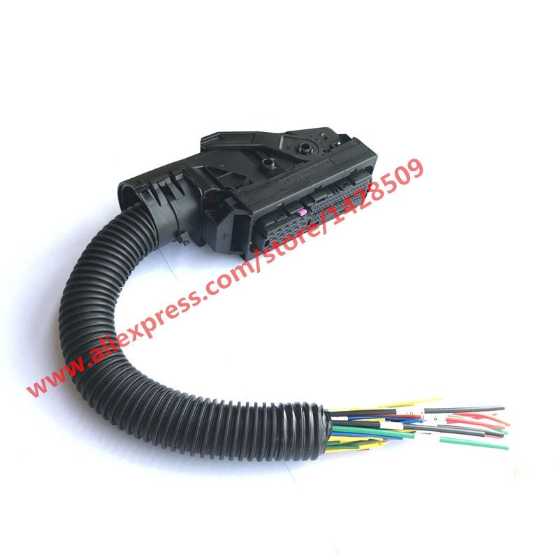 Edc7 Common Rail 89 Pins Ecu Connector Auto Pc Board Socket With