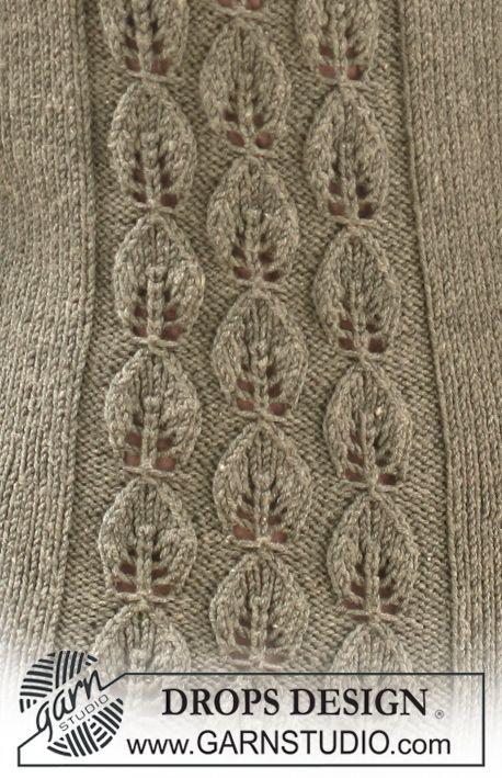 Patrón gratuito de punto | Proyectos de tejer | Pinterest | Puntos ...