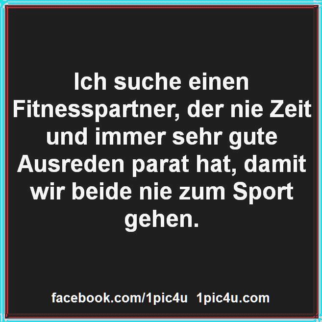 Ich suche einen Fitnesspartner   #1pic4ucom #fitness #fitnesssprüche #sprüche
