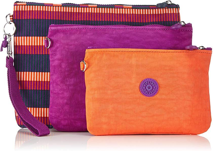 2db43024b6 Kipling Iaka L Wristlet, Women's Make-up Pouches, Multicolour (Rbig (Stripe