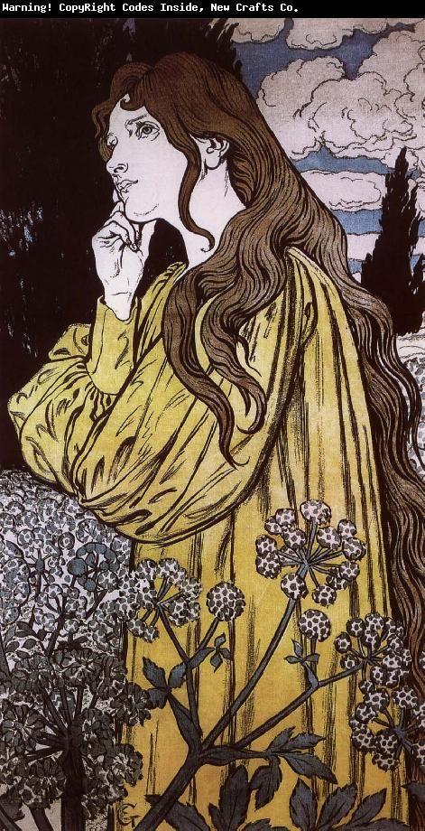 Eugene Grasset | Eugene grasset, Art, Portrait painting