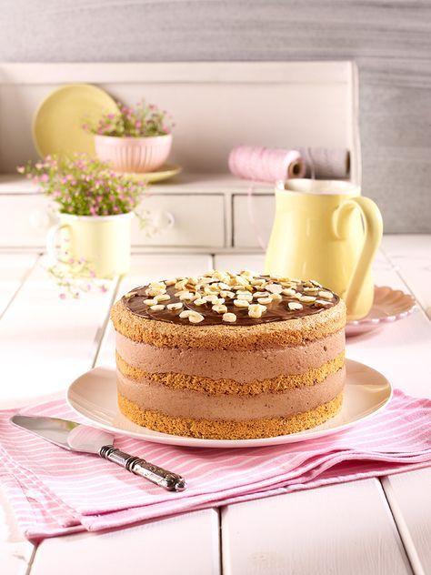Kleine Nuss Sahne Torte Rezept In 2019 Rezept